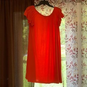 Old navy t shirt dress with flutter sleeves!